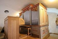 Orgel der Pfarrkirche St. Stephanus in Surheim