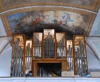 Orgel in der Pfarrkirche St. Jakobus d. Ä. in Hörgertshausen