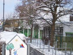Eingang Kinderhaus