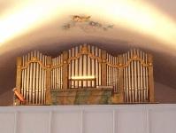 Orgel in Kuratiekirche St. Bartholomäus in Hörgersdorf