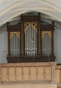Orgel in Erlstätt, St. Peter und Paul im Thale