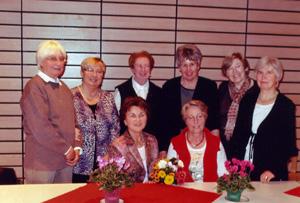 Vorstand Frauenbund 2013