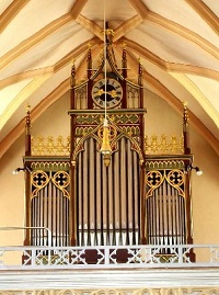 Orgel der Pfarrkirche St. Korbinian in Rechtmehring