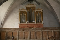 Orgel der Johanneskirche (Filialkirche) in Grabenstätt