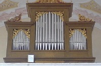 Orgel der Filialkirche St. Johann und Paul in Amelgering