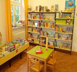 Bücherei Innenraum