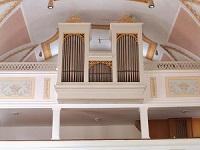 Orgel der Pfarrkirche St. Johann Baptist in Schöngeising