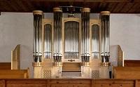 Orgel der Filialkirche St. Vinzenz in Weißbach (Pfarrei Inzell)