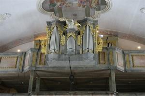 Orgel der Pfarrkirche St. Martin in Bad Kohlgrub