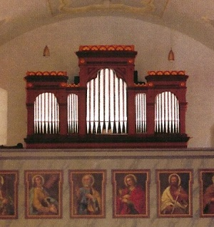 Orgel der Pfarrkirche St. Ulrich in Neukirchen am Teisenberg