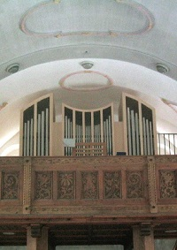 Orgel in Wallgau-St. Jakob