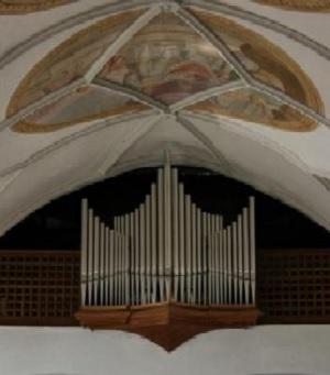 Orgel der Pfarrkirche St. Leonhard in Kreuth