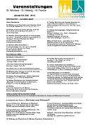 Veranstaltungsblatt