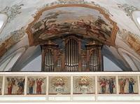 Orgel der Filialkirche St. Margareta in Ellmosen (Stadtkirche Bad Aibling)