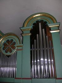 Orgel der Filialkirche St. Michael in Grafengars