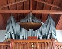 Orgel der Pfarrkirche St. Ludwig in Oberau