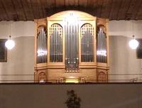 """Orgel der Pfarrkirche """"Mariae Sieben Schmerzen"""" zu Unterstein, Schönau am Königssee"""