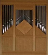 Orgel in Kapelle St. Kassian, Klinikum in Rosenheim