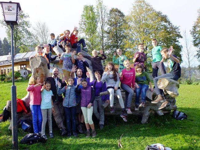 Gruppenfoto Ausflug 2014