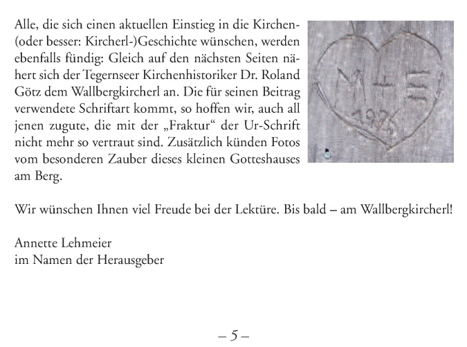 Festschrift Wallbergkircherl5b