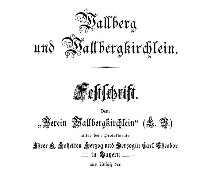 Festschrift Wallbergkircherl13a