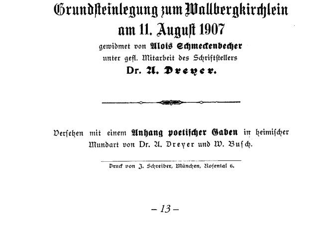 Festschrift Wallbergkircherl13b