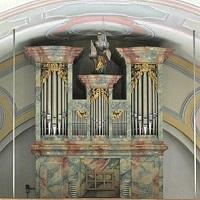 Orgel der Pfarrkirche St. Andreas in Farchant