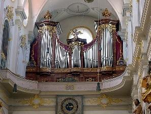 Orgel der Pfarrkirche St. Peter in München