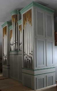 Orgel der Pfarrkirche Mariä Himmelfahrt in Törwang