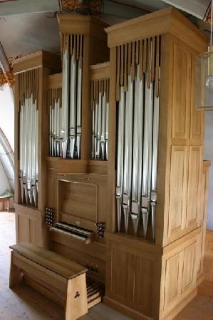 Orgel der Pfarrkirche St. Stephanus in Otting