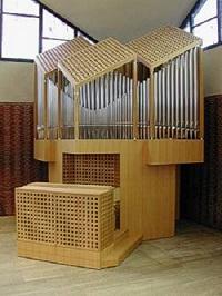 Orgel der Pfarrkirche St. Franz Xaver in München-Trudering