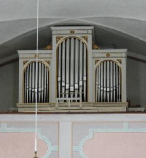 Orgel der Pfarrkirche St. Michael in Sachrang