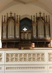 Orgel der Filialkirche Mariä Himmelfahrt, Kirchreith, Pfarrei St. Peter, Rieden
