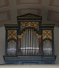 Orgel der Friedhofskirche in Traunstein