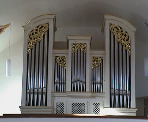 Orgel der Pfarrkirche St. Martin in Oberneuching