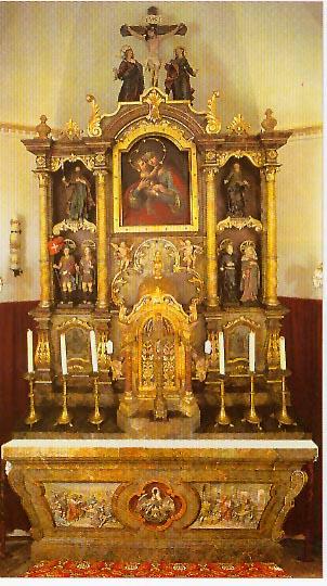 Altar Maria Hilf-Kirche