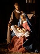 Weihnachtskarte mit Krippe St. Otto