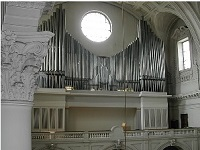 Orgel der Pfarrkirche St. Margaret in München