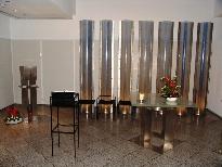 Kapelle Flughafen Altarraum