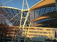 Flughafen Dach
