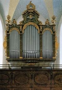 Orgel der Salinenkapelle St. Rupert und St. Maximilian in Traunstein