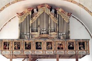 Orgel der Pfarrkirche St. Georg in Finsing