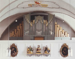 Orgel der Pfarrkirche St. Johannes Baptist in Mauern