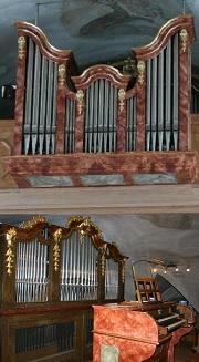 Orgel der Pfarrkirche Mariä Himmelfahrt in Brannenburg,