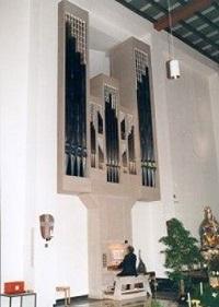 Orgel der Pfarrkirche St. Konrad in München,
