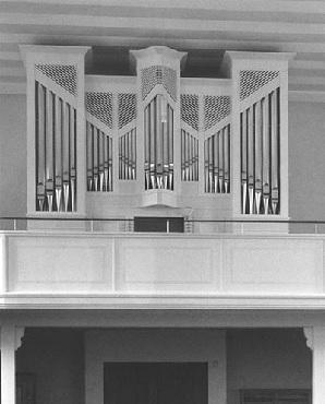 Orgel der Pfarrkirche St. Nikolaus in Rimsting,