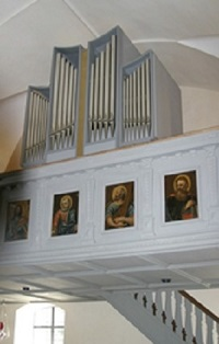 Orgel der Pfarrkirche St. Andreas in Staudach-Egerndach,