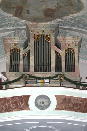Orgel der Pfarrkirche St. Michael in Mettenheim
