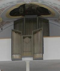 Orgel der Pfarrkirche St. Michael in Götting
