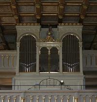 Orgel der Pfarrkirche St. Maximilian in Grabenstätt